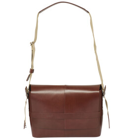 Brooks Barbican Bolsa de hombro Cuero, brown
